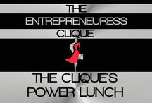 THE CLIQUE'S POWER LUNCH / WELCOME TO THE ENTREPRENEURESS CLIQUE'S~ THE CLIQUE'S POWER LUNCH BOARD. OUR TASTY & HEALTHY POWER LUNCH WHERE IMPORTANT BUSINESS DECISIONS ARE DISCUSSED AND MADE.  / by THE ENTREPRENEURESS CLIQUE™