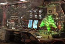 Workstation Sci Fi
