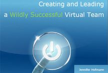 noname Virtual Leadership / Collection of thought pins about virtual work and leadership.