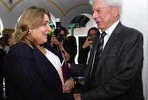 Mario Vargas Llosa inaugura cátedra en Colombia / Mario Vargas Llosa visitó la sede del Instituto Caro y Cuervo para inaugurar la cátedra que llevará su nombre.