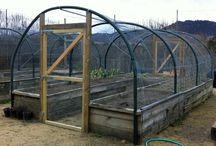 Garden enclosures, etc