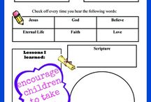 Children's Ministry: Learning to Worship / by Amanda Standiford