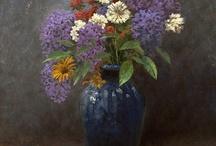 Květiny malba