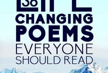 Poetry / Collections of thought-provoking and memorable poems