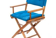 Teak Director's Chairs / Our teak Director's Chairs are good enough for mermaids!