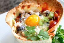 Hispanic-inspired Egg Dishes