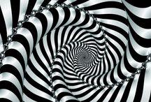 Ilusiones ópticas. / Efectos visuales.