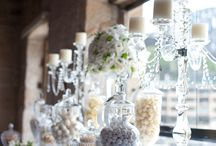 DIY Candy Buffets / With candy buffets all the rage at weddings, here are our favourite picks to help you create a DIY candy buffet!