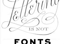 Lettering & graphics
