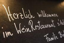 s'Achtele / Stäfeli   Relais du Silence   Hotel Garni   s'Achtele   WeinRestaurant   Kulinarik   Regionalität   Österreich   frische Produkte aus der Region