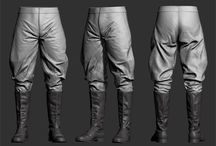 Clothes: Pants - sculpted or scans