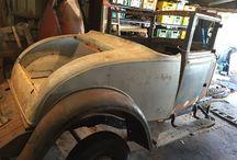 Graham Paige 612 Coupe / Restoration pics