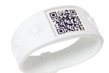 Nature Band / The star of this QR Living theme is nature! Band its elements together and show you know their awesomeness. Believe in yourself as protector and admirer of the natural world. Create a Nature Page and just a scan away you can appreciate the world, yourself, and friends.  Symbols: Soon Sun: Energy and Connectedness. Moon's Companion: Insight. Especially Earth: Think Global. Cloud Me: A Natural Protectant. H2O: Reflection and New Growth. First Flame: Intensity and Purification.