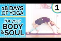 18 Days of yoga for body&soul