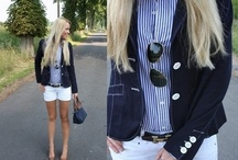 preppy today n tomorrow / oh how i love preppy look. its so clean and relaxed...  / by Ardria Smith