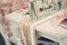 Vintage party decor
