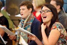 Church singers