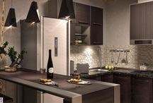 Homplexowe Wnętrza / Wizualizacje wnętrz kuchni i łazienek z mieszkań położonych w ConceptHouse Mokotów i Apartamentach przy Krasińskiego, powstałe w ramach konkursu Homplexowe Wnętrza.