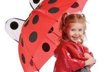 Para combater o frio e a chuva!