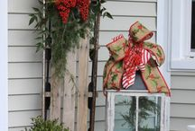 Out door Christmas decorations