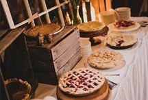 Apple pie inspired autumn wedding