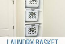 Laundry rooms / Ideas for laundry organization