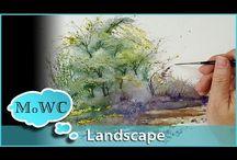 watercolor video
