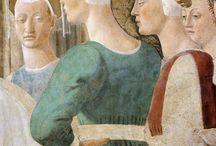 arte - Piero della Francesca (1416-1492) / arte - pittore e matematico italiano