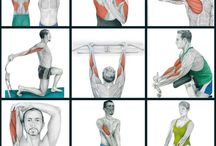 Arm stretching workout
