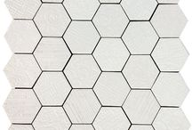 Hexagon Tiles / Simple shapes can make all the difference in your overall design.   The Hexagon is a classic shape, used in tile for hundreds of years. The hexagon tile takes inspiration from Roman and Moorish patterns and designs.   Today's modern interpretation on this age-old style takes in regard the old and makes it new by embracing modern colours and effective decorative patterns.