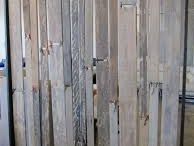 room dividers / How to make my pop up shop space look good using recycled, reclaimed wood..