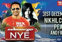 NYE with Nikhil Chinapa, Pearl and friends