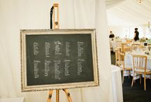 Decorations / Table plan