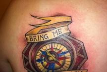tattoos / by April Clark Jandrin