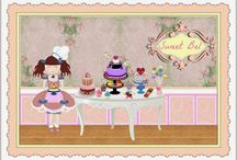 SWEET BEL / Reporte ría creativa. Tartas, galletas cupcakes y cake pops....