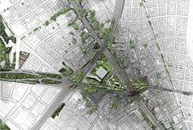 Urbanismus půdorys