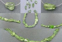 Stone Beads > Peridot Beads / Natural Peridot beads in a variety of sizes, shapes and styles.