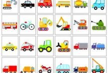 Kleuters - thema vervoer