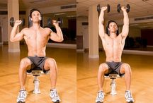Shoulder Workout / Exercises / Boulder shoulders can be yours!  Train your Front, Mid, and Rear delts with these exercises!