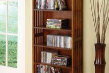 Kirjastohuonehaaveita / Ideoita tulevaisuuden kirjastohuoneeseeni