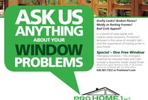 Our Promotions / Various specials, discounts and offers on windows, siding and roofing.  http://www.prohome1.com/en/about-us/our-promotions.html