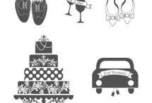 Icons wedding