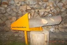 Smart Holder sawhorse Log Saw Horse WOOD LOG HOLDER FOR CHAINSAW CUTTING USH / Holder for cutting firewood. Holder for cutting firewood is used for the cutting of longer and heavier pieces of wood to a diameter of 30 cm.