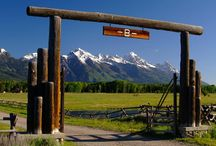 SOLD IN 2015 || Linger Longer River Ranch / Bar B Bar Ranch Tradition is a 72 acre ranch site with substantial improvements that include an elegant main home, guest home, and rec home with observatory, squash court, climbing wall and gym set in majestic Jackson Hole, Wyoming. www.barbbarranch.com. Listed for $24,500,000.