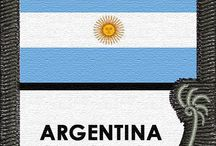 Argentina - Places to See, Recipes + Things to Do! / This board celebrates ARGENTINA and includes our #indeegear sleeve with the country flag for your #luggage while traveling or for use on other #bags and #backpack. This board also includes #recipes #travel tips #destinations #photos #gift #ideas and #quotes -- #funny and #inspirational! Enjoy!