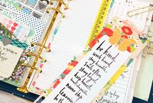 Planner Ideas & free printables / Ideas and samples for daily/weekly/monthly planners, including printables