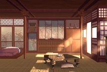 일본풍 실내