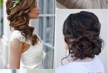 Bridal hairstyle and