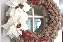 Wreaths DIY / So many beautiful wreaths and so little time to enjoy them. I want to make them all....well, most of them!    barbara-griffin.artistwebsites.com