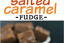 Salted Caramel Mocha Fudge:
